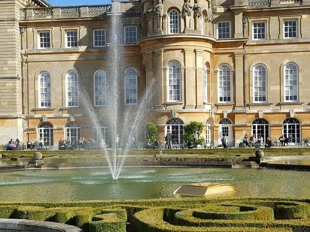 waer terraces at blenheim palace