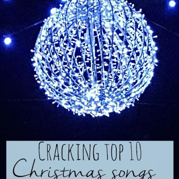 My cracking top 10 Christmas songs