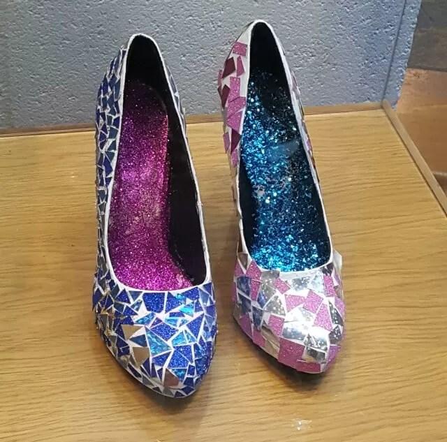Glass slippers art work