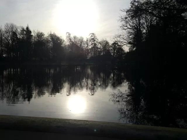 My Sunday Photo sun over Stowe Gardens