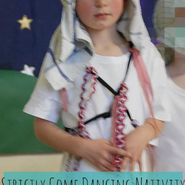Strictly Come Dancing Christmas nativity and morris dancing costume