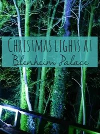 blenheim christmas lights