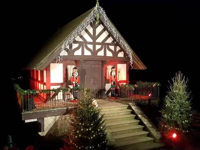 father christmas' house