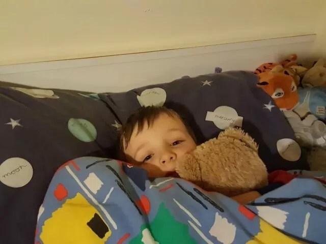 bedtime teddy snuggles