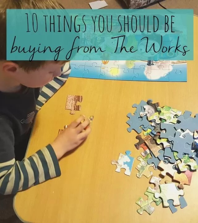 10 things you should be buying from The Works - Bubbablue and me