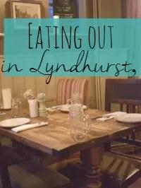 eating out Lyndhurst