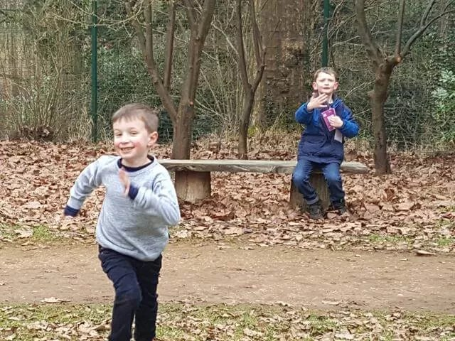 more running at Stowe