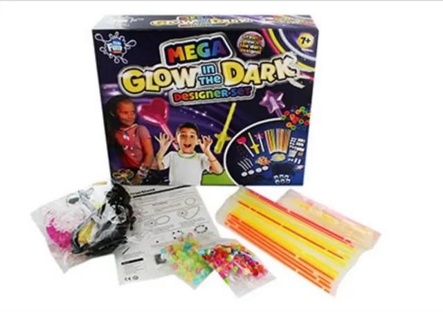 neon designer toy set
