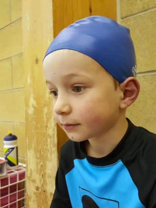 ready for swimming