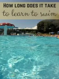 How long does it take to learn to swim
