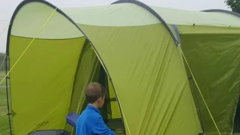 How to choose the perfect tent for a family camping trip - Bubbablue and me