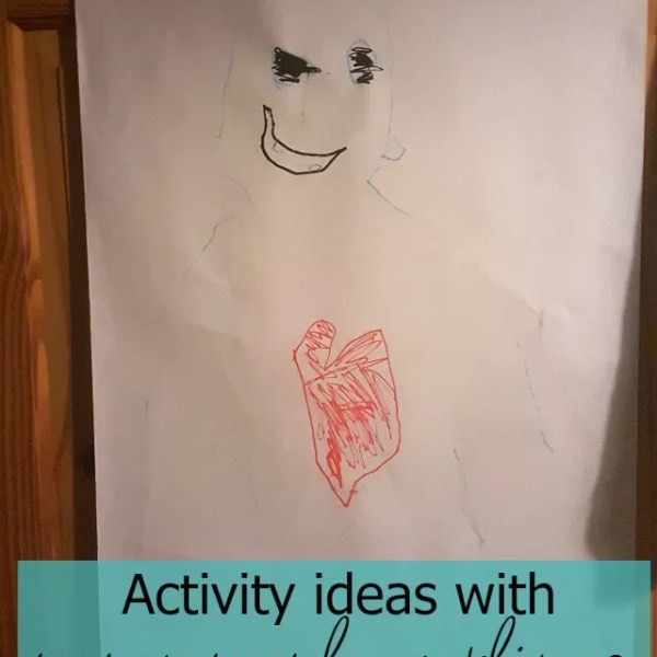 Go lifesize with paper people – kids activity