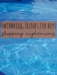 boys swimming trunks