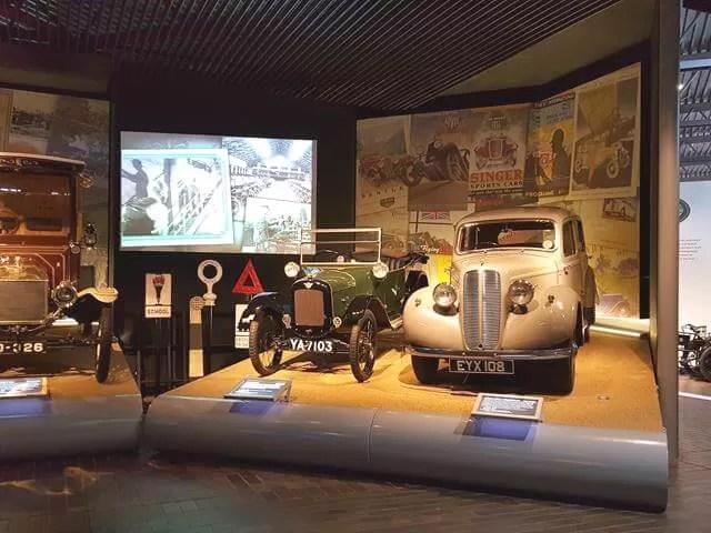 cars at Beaulieu motor museum
