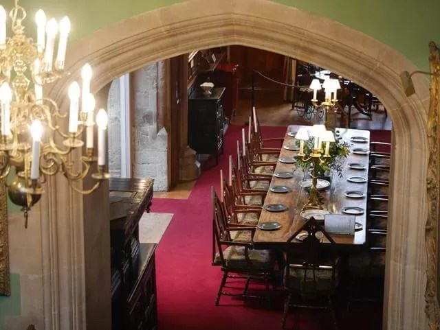 dining room in Palace House