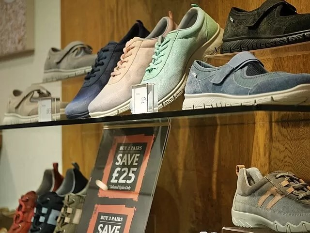 hotter trainers display