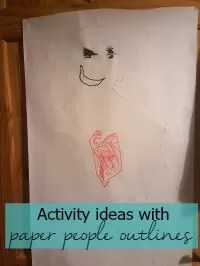 paper people crafts