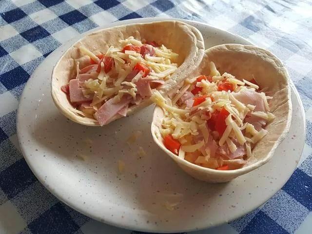 breakfast tortilla shells