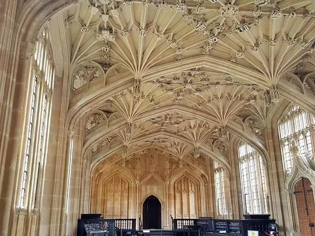 Divinity School ceiling Bodleian