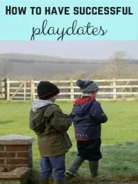 successful playdate