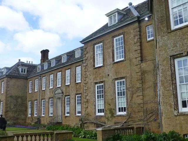 back of Upton House