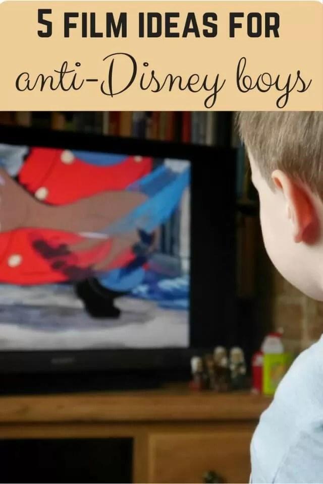 5 film ideas for anti-Disney boys - Bubbablue and me
