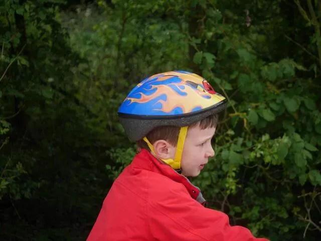 cycling profile shot