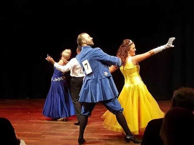 My Sunday Photo - beauty and the beast Strictly Banbury costumes and dancers