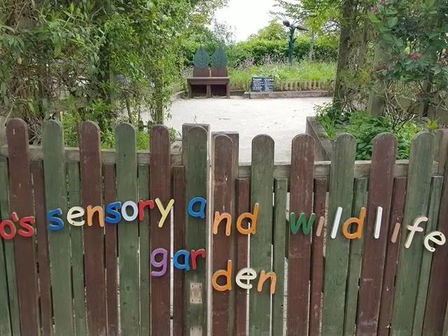 Ryton Pools sensory garden