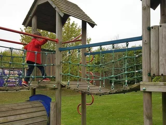 bridges at thursford playground