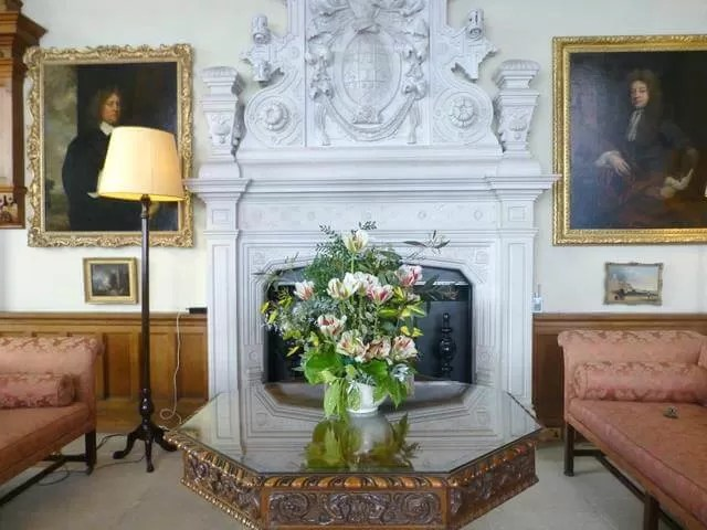 drawing room at Felbrigg hall