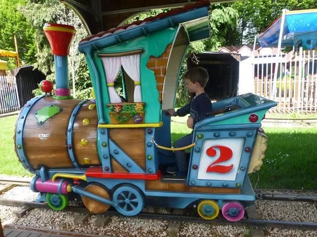 fairground train ride