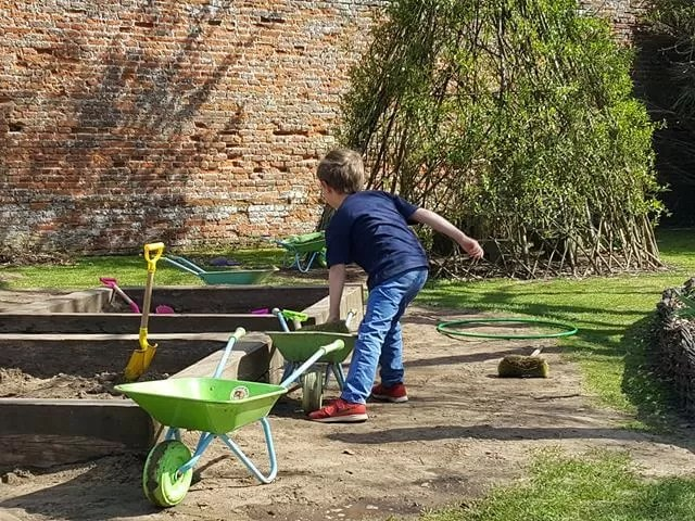 gardening at felbrigg hall