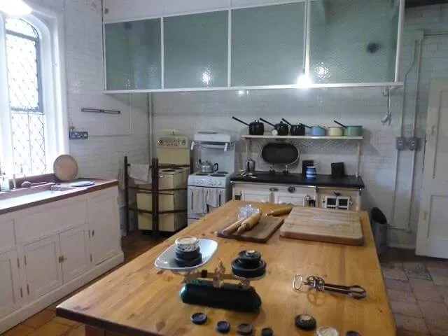 kitchen at anglesey abbey