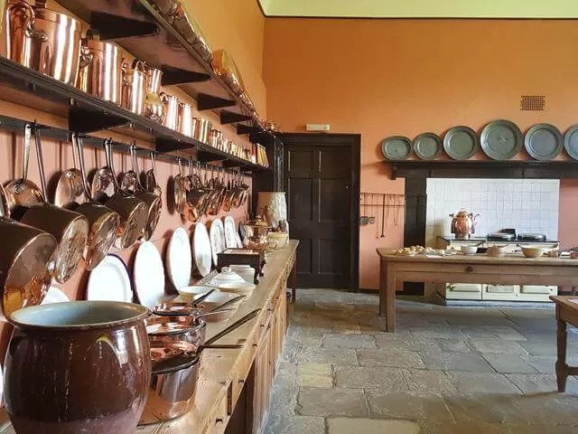 kitchen at felbrigg hall