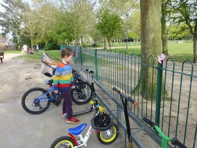 scooter and bike park at Eaton Park