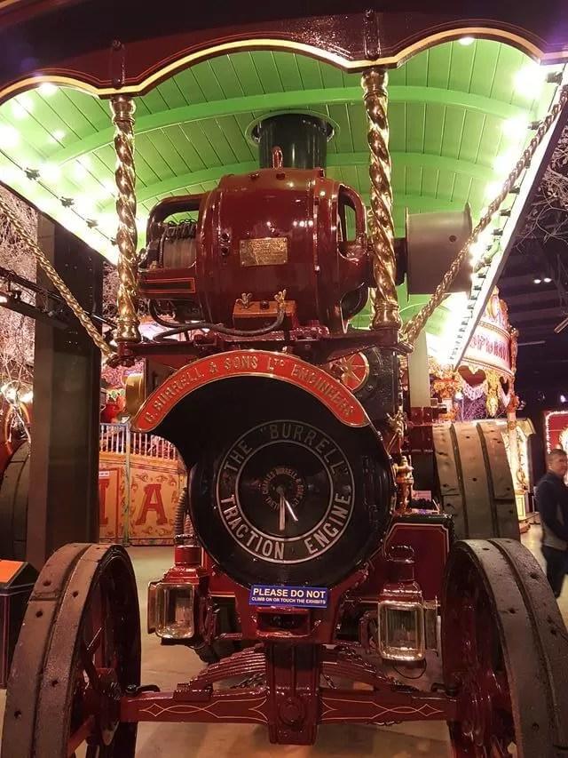 steam engines at thursford
