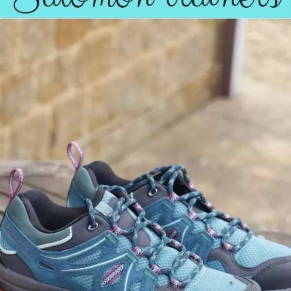 Walking on air with Salomon walking shoes