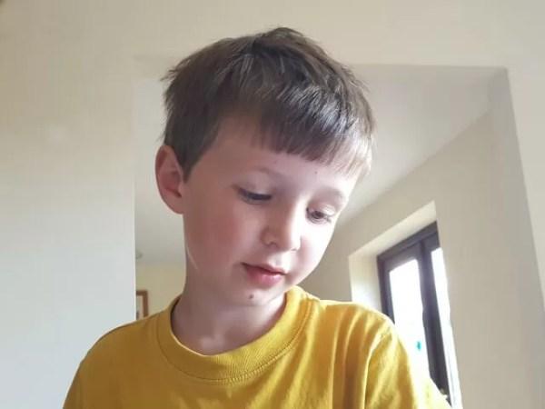 Thoughtful boy