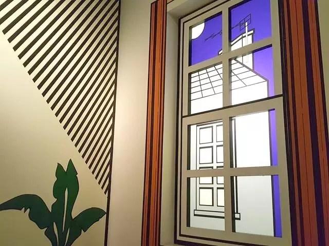 art deco room at imperial war museum