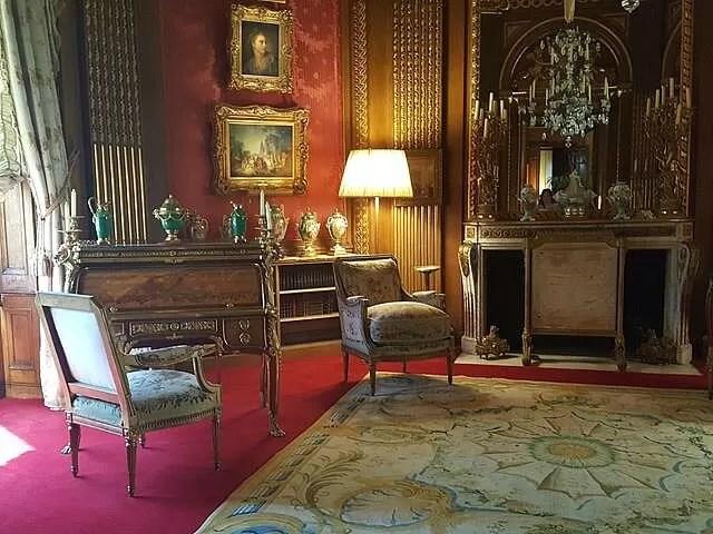drawing rooms at Waddesdon