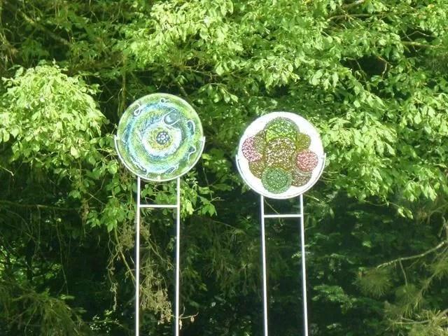 glass lollipops