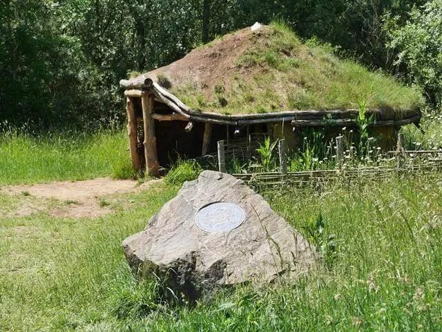 iron age house at stanwick lakes