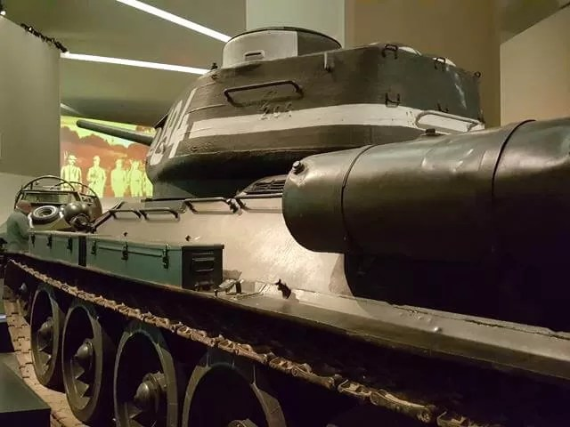 tank at imperial war museum