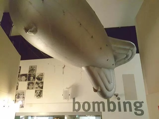 war zeppelins in imperial war museum