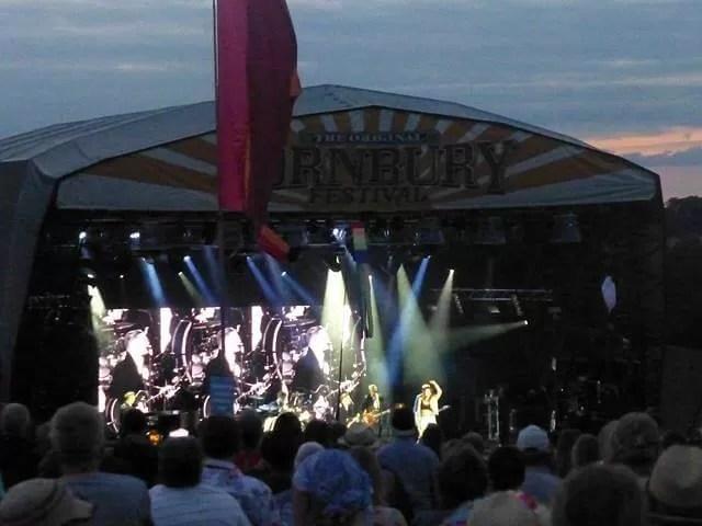 Bryan Adams final set at cornbury Saturday