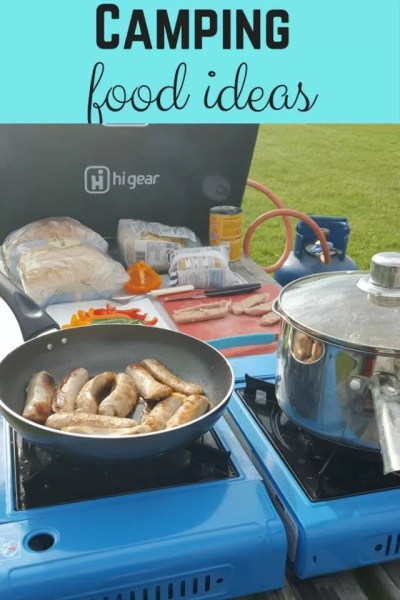 Camping food ideas - Bubbablue and me