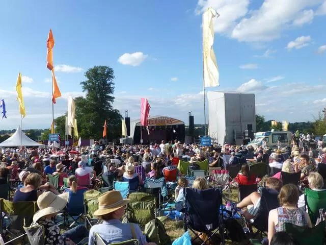 cornbury festival crowd