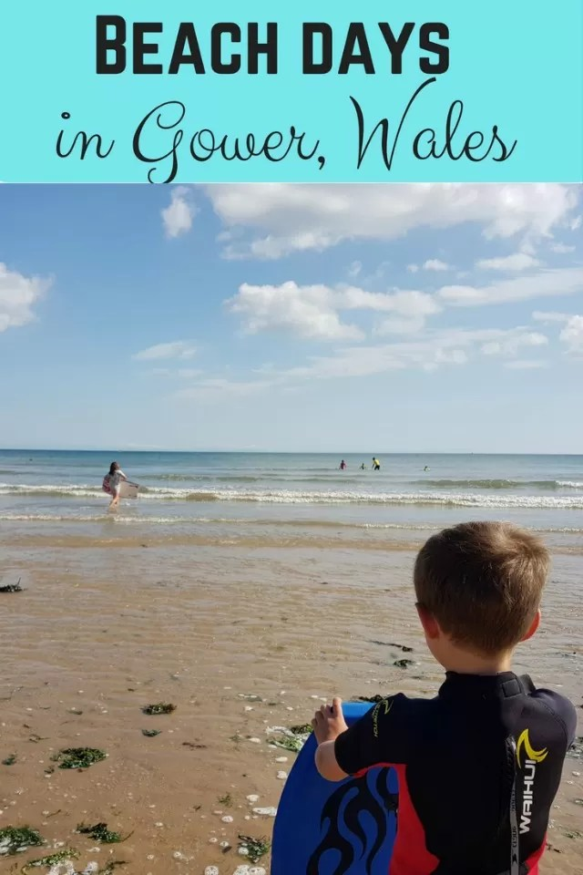 beach days in Gower Wales