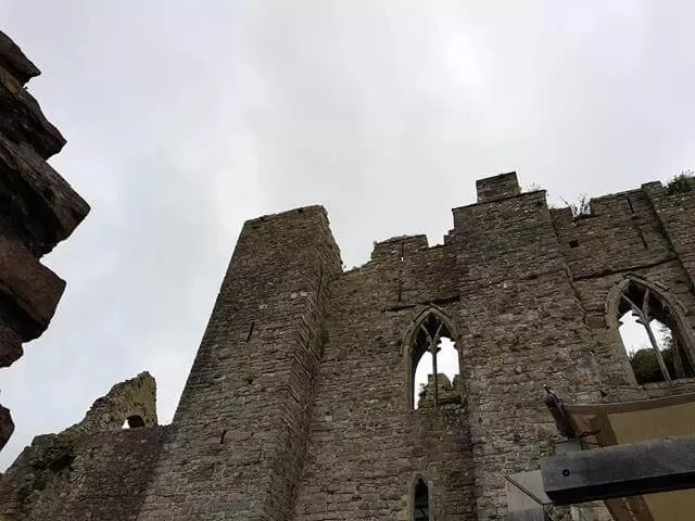 ruins of oystermouth castle